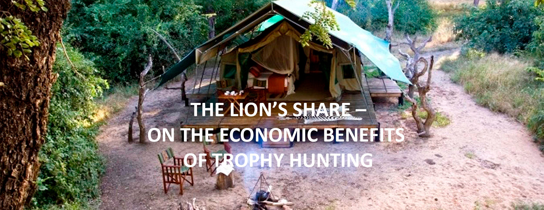 The Lion's Share? On The Economic Benefits Of Trophy Hunting <br> February 2017, Volume 15-1